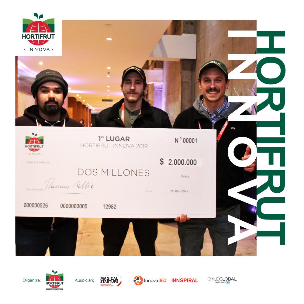 Ganadores del Concurso Hortifrut Innova 2019
